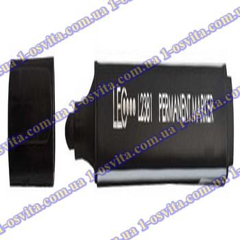 Маркер перманент.144мм L2381-01 черный