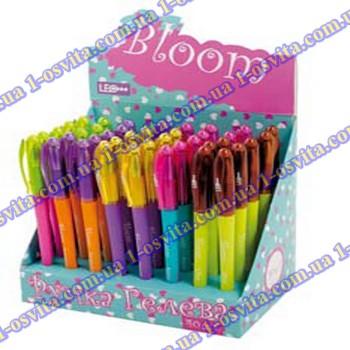 "Ручка гелевая ""Bloom"" 0,5мм, микс цветов"