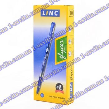"Ручка шар/масл ""Glycer"" зеленая 0,7 мм ""LINC"""