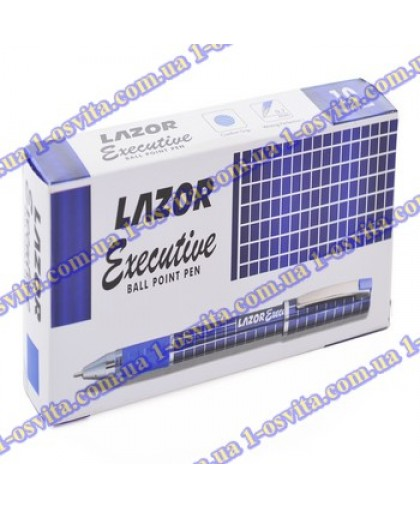"Ручка шар/масл ""Lazor Executive"" синяя 0,7 мм ""LINC"""