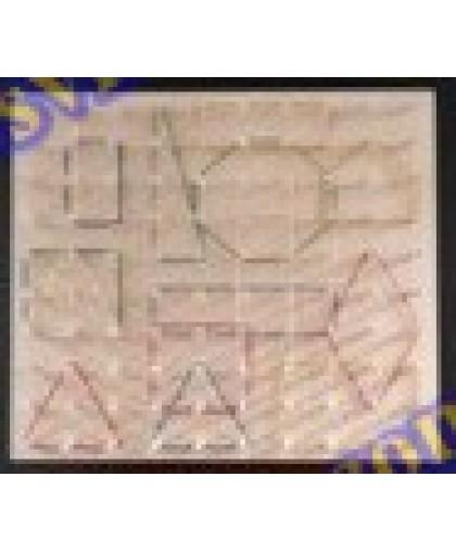 Математичний планшет навчальний 30см (10х10)