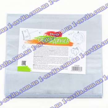 Обложка для тетрадей PVC (34,5см*21см), 80 мкм, прозр.
