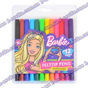 "Фломастеры 12 цв. ""Barbie"""
